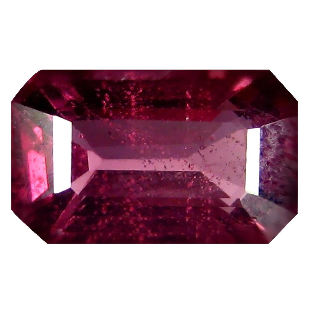 1.48 ct AAA+ Grand looking Octagon Shape (9 x 5 mm) Pinkish Red Rhodolite Garnet Natural Gemstone