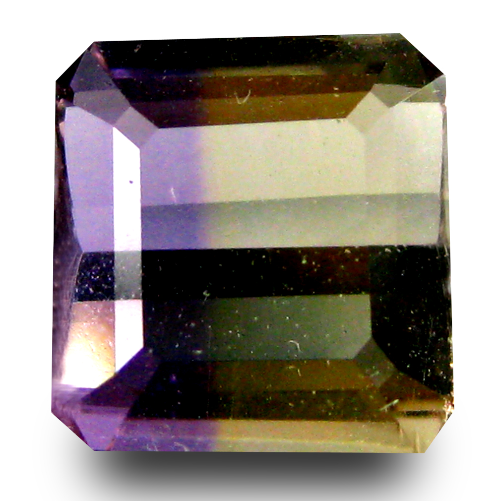 2.31 ct AAA Remarkable Octagon Shape (8 x 8 mm) Purple and Yellow Ametrine Natural Gemstone