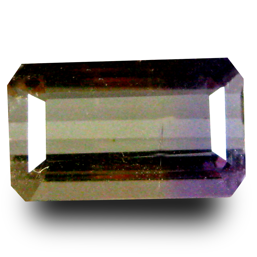 1.60 ct AAA Beautiful Octagon Shape (10 x 6 mm) Purple and Yellow Ametrine Natural Gemstone