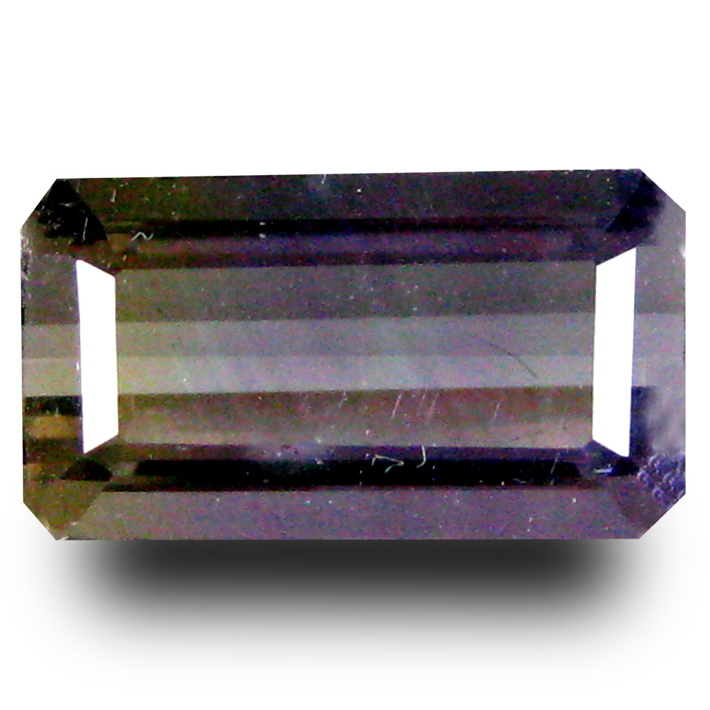1.77 ct AAA Shimmering Octagon Shape (10 x 6 mm) Purple and Yellow Ametrine Natural Gemstone