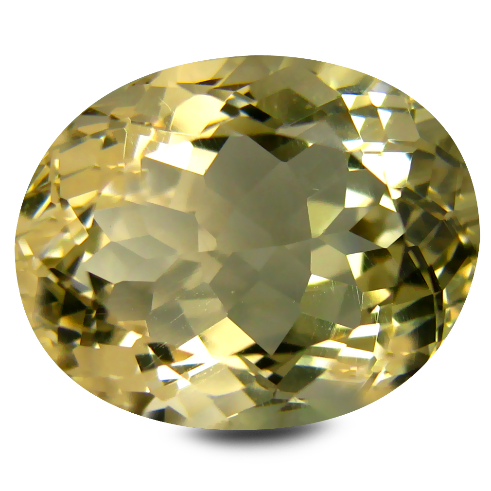 9.89 ct AAA Valuable Oval Shape (15 x 12 mm) Golden Yellow Orthoclase Natural Gemstone