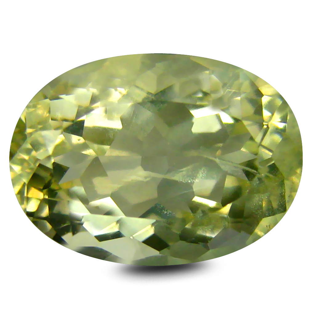 5.03 ct AAA Beautiful Oval Shape (13 x 9 mm) Golden Yellow Orthoclase Natural Gemstone