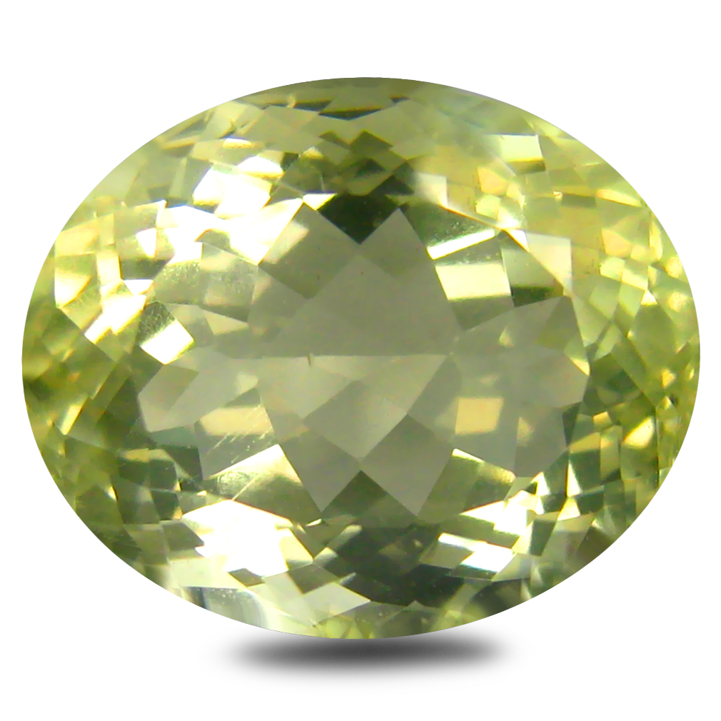 7.37 ct AAA Eye-popping Oval Shape (14 x 11 mm) Golden Yellow Orthoclase Natural Gemstone