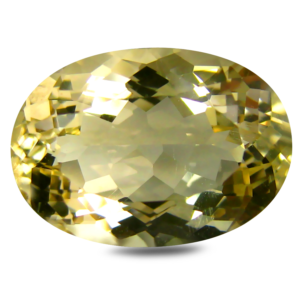 5.36 ct AAA Mind-Boggling Oval Shape (14 x 10 mm) Golden Yellow Orthoclase Natural Gemstone