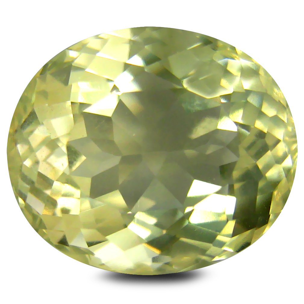 8.44 ct AAA Remarkable Oval Shape (14 x 12 mm) Golden Yellow Orthoclase Natural Gemstone