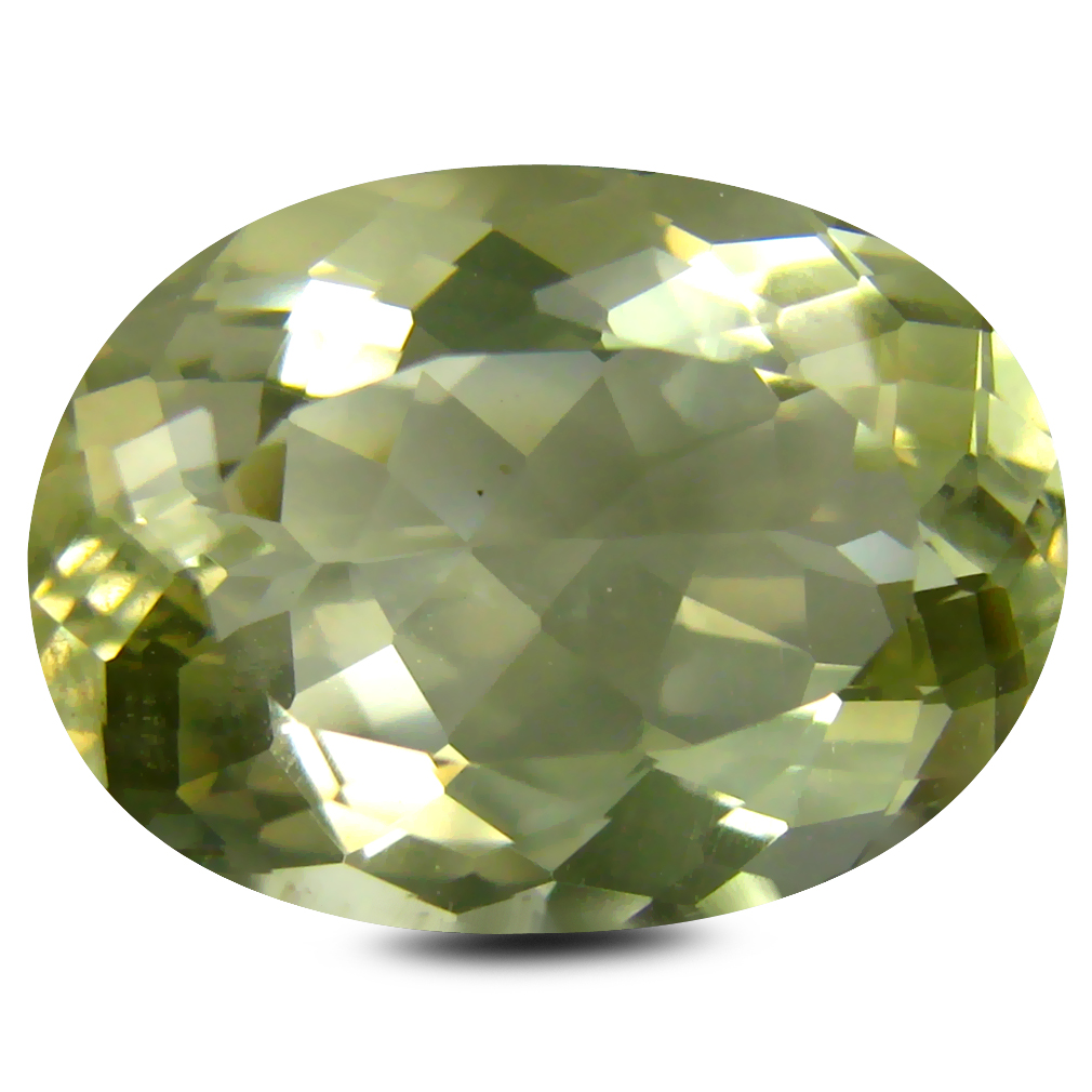 7.07 ct AAA Eye-catching Oval Shape (15 x 11 mm) Golden Yellow Orthoclase Natural Gemstone