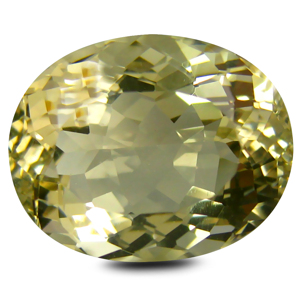 6.85 ct AAA Pleasant Oval Shape (14 x 11 mm) Golden Yellow Orthoclase Natural Gemstone