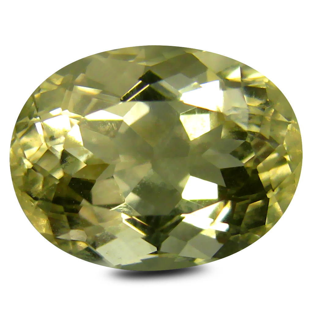 5.28 ct AAA Marvelous Oval Shape (12 x 10 mm) Golden Yellow Orthoclase Natural Gemstone