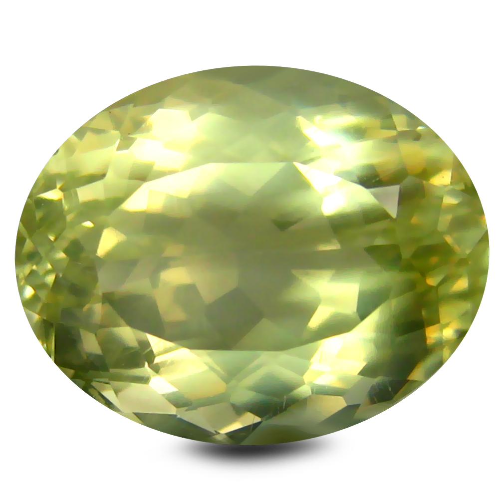 6.18 ct AAA Phenomenal Oval Shape (13 x 10 mm) Golden Yellow Orthoclase Natural Gemstone