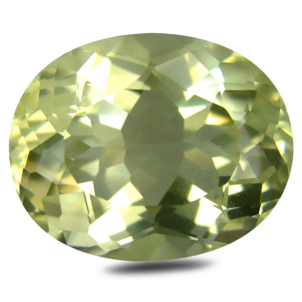 5.38 ct AAA Outstanding Oval Shape (13 x 10 mm) Golden Yellow Orthoclase Natural Gemstone