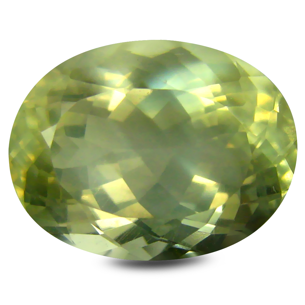 5.04 ct AAA Premium Oval Shape (13 x 10 mm) Golden Yellow Orthoclase Natural Gemstone