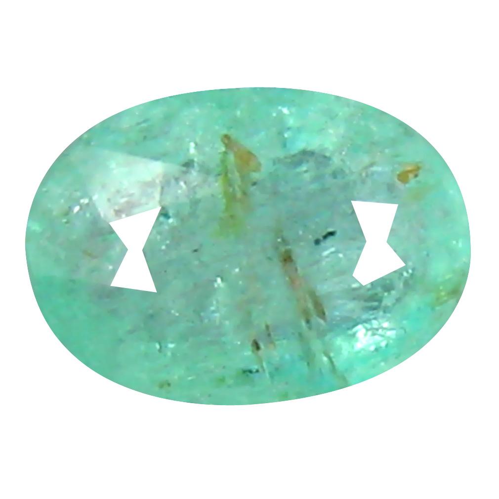 0.55 ct Pretty Oval Cut (6 x 5 mm) Copper Bearing Paraiba Tourmaline Natural Loose Gemstone