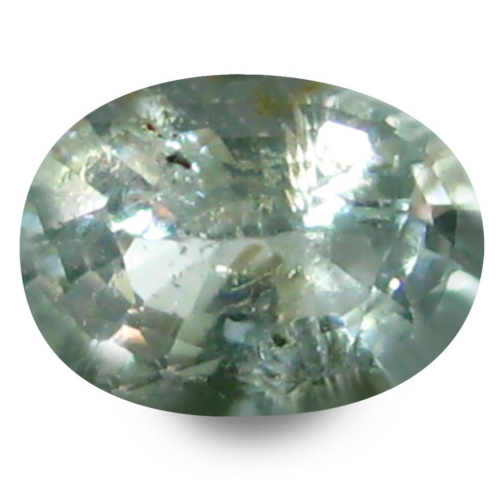 0.27 ct Flashing Oval Cut (5 x 4 mm) Copper Bearing Paraiba Tourmaline Natural Loose Gemstone
