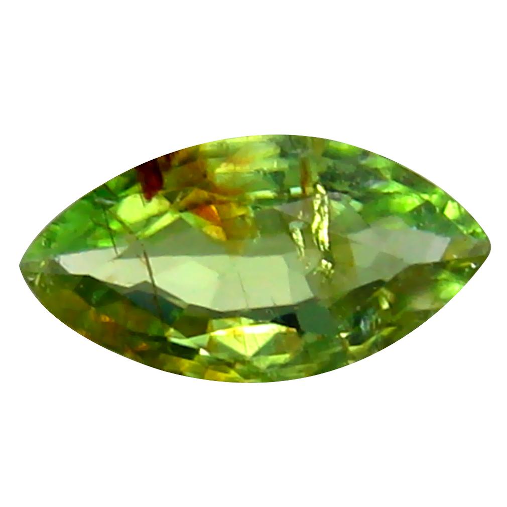 0.41 ct Sparkling Marquise Cut (8 x 4 mm) Copper Bearing Paraiba Tourmaline Natural Loose Gemstone