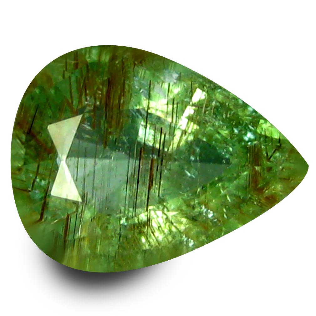0.87 ct Exquisite Pear Cut (8 x 6 mm) Copper Bearing Paraiba Tourmaline Natural Loose Gemstone