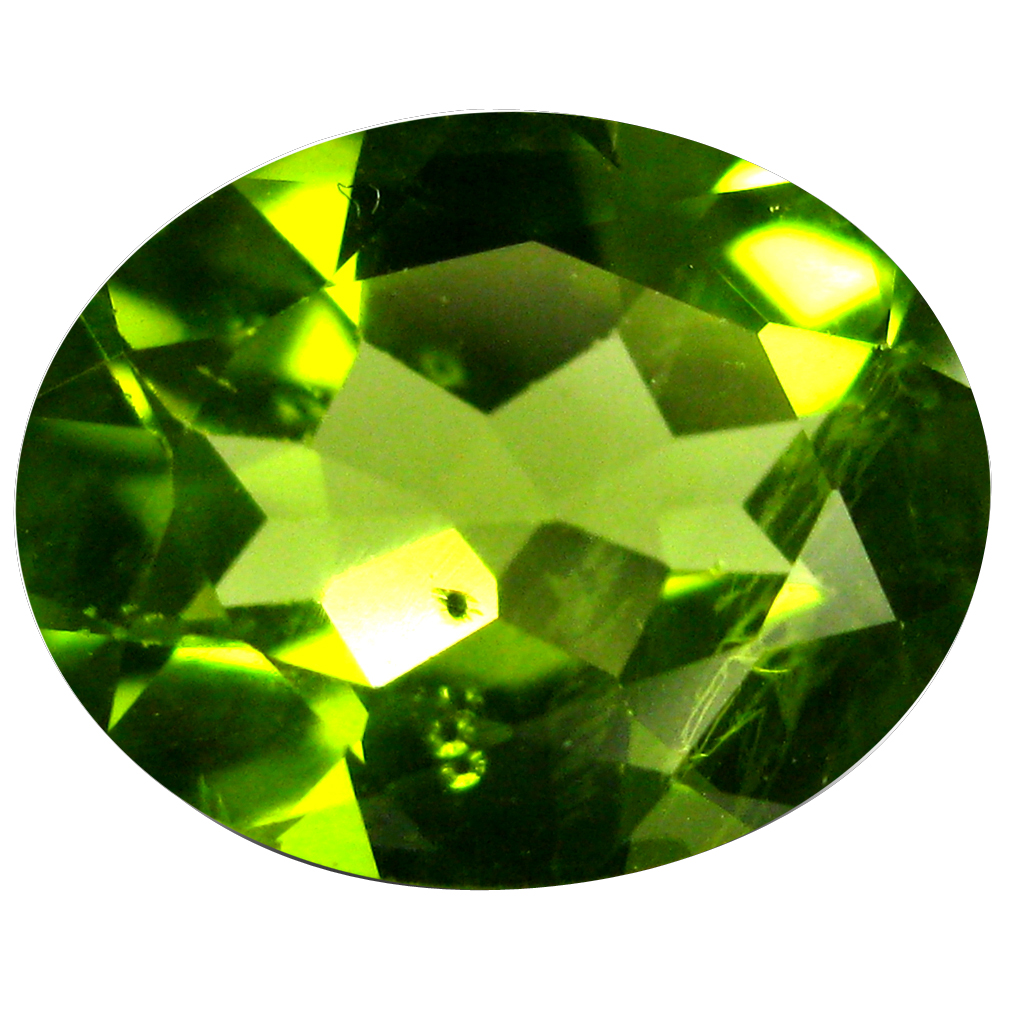 1.81 ct Stunning Oval Cut (9 x 7 mm) Pakistan Green Peridot Natural Gemstone