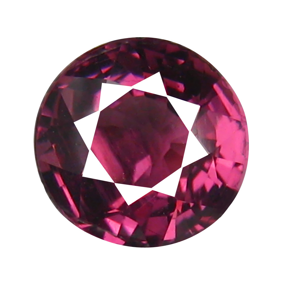 1.25 ct AAA+ Incredible Oval Shape (6 x 6 mm) Pinkish Red Rhodolite Garnet Natural Gemstone