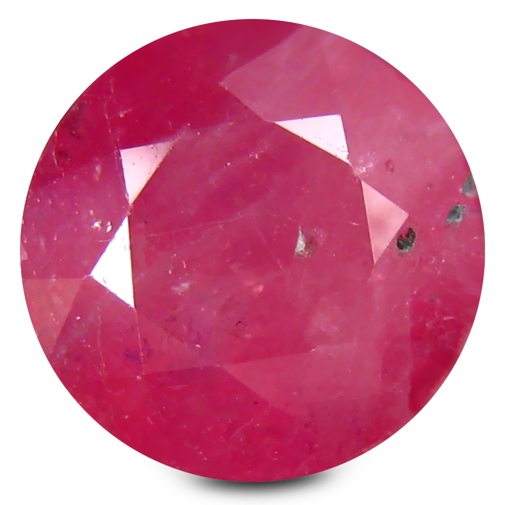 5.46 ct AA+ Superb Round Shape (9 x 9 mm) Red Ruby Natural Gemstone