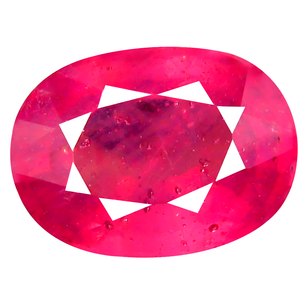 5.79 ct AA+ Pretty Oval Shape (12 x 9 mm) Red Ruby Natural Gemstone