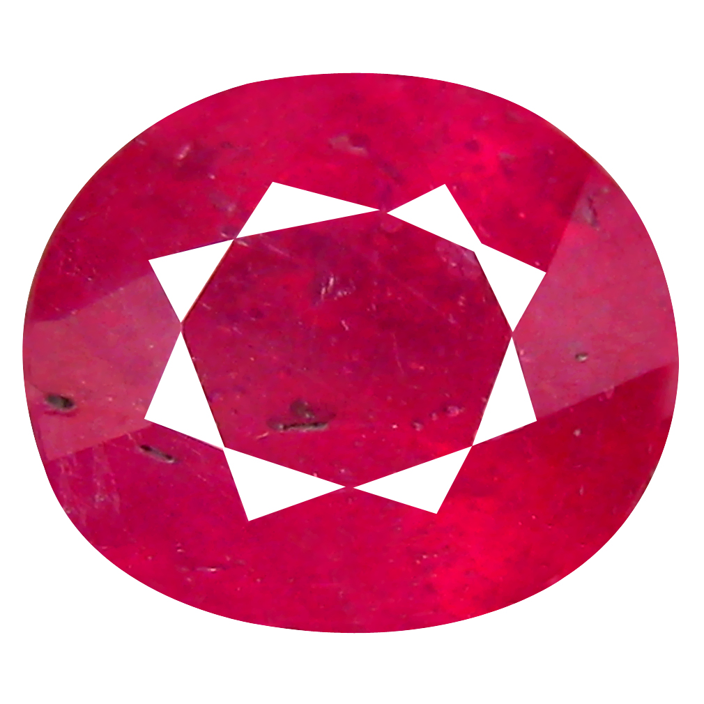 4.03 ct AA+ Eye-opening Oval Shape (10 x 8 mm) Red Ruby Natural Gemstone