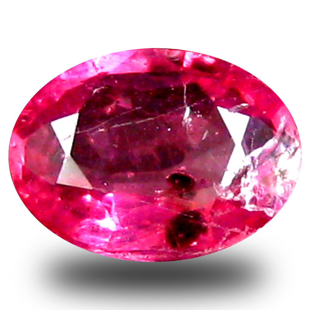 0.91 ct  Spectacular Oval Shape (7 x 5 mm) Red Sapphire Natural Gemstone