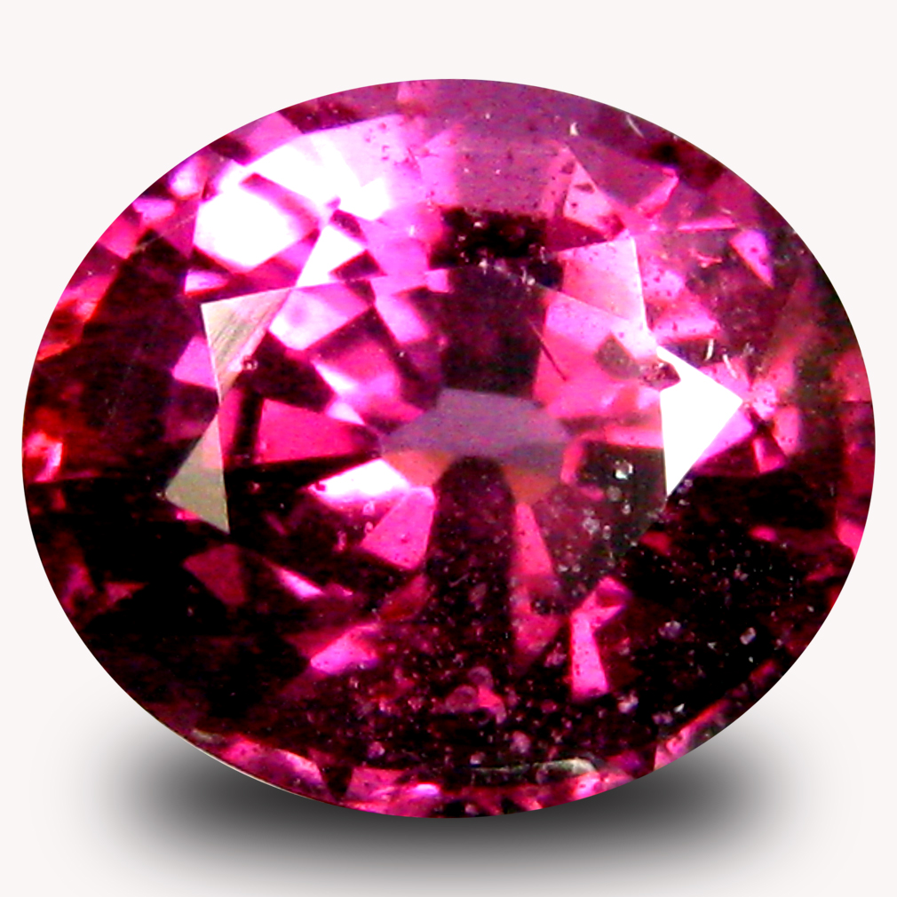 1.36 ct AAA+ Lovely Oval Shape (7 x 6 mm) Pinkish Red Rhodolite Garnet Natural Gemstone