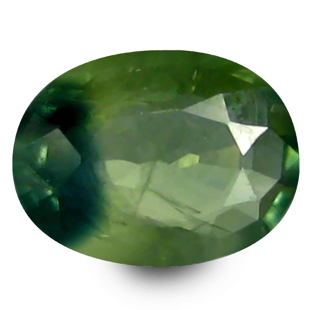 0.62 ct AAA Gorgeous Oval Shape (6 x 5 mm) Natural Green Sapphire Loose Stone