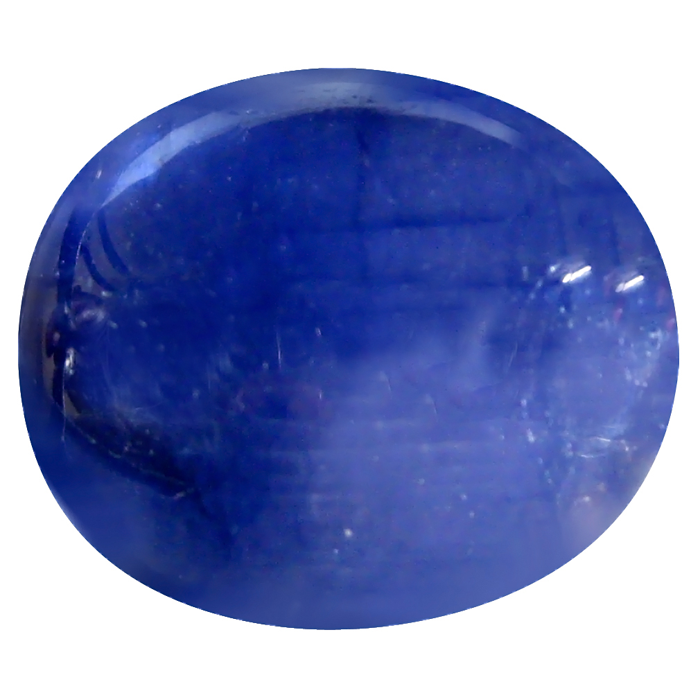 29.30 ct AAA Terrific Oval Cabochon Shape (18 x 15 mm) Blue Blue Sapphire Natural Gemstone