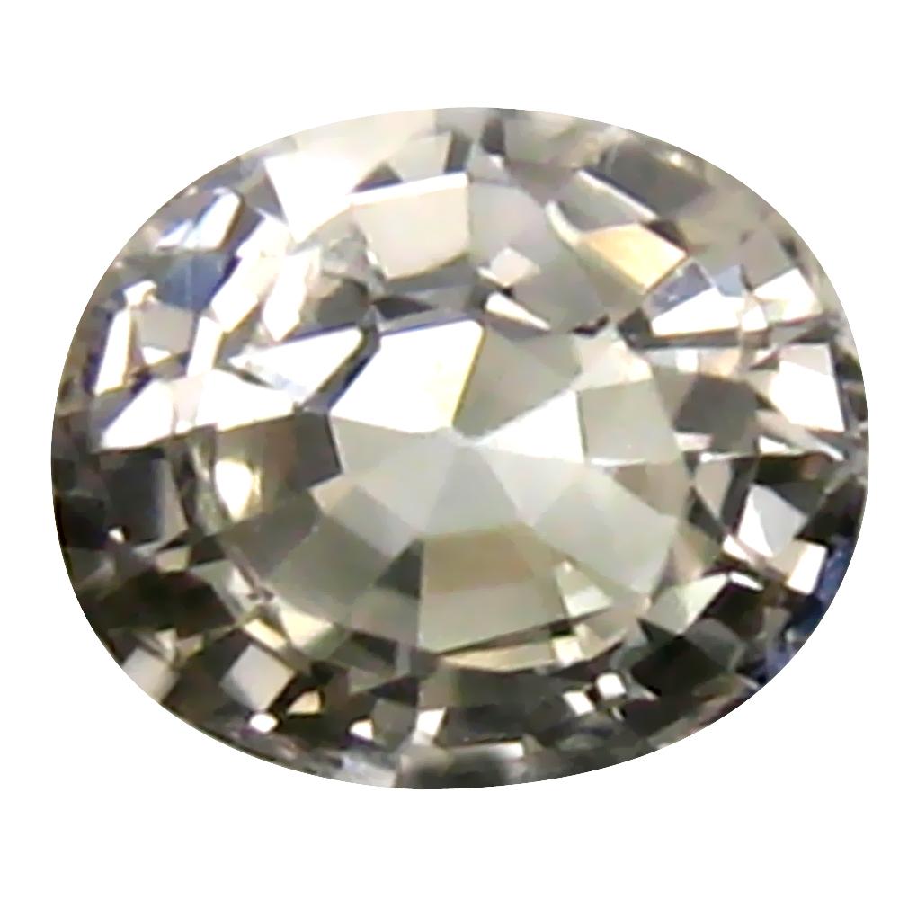 0.66 ct Pleasant Oval Cut (5 x 5 mm) Ceylon Yellow Sapphire Genuine Loose Gemstone