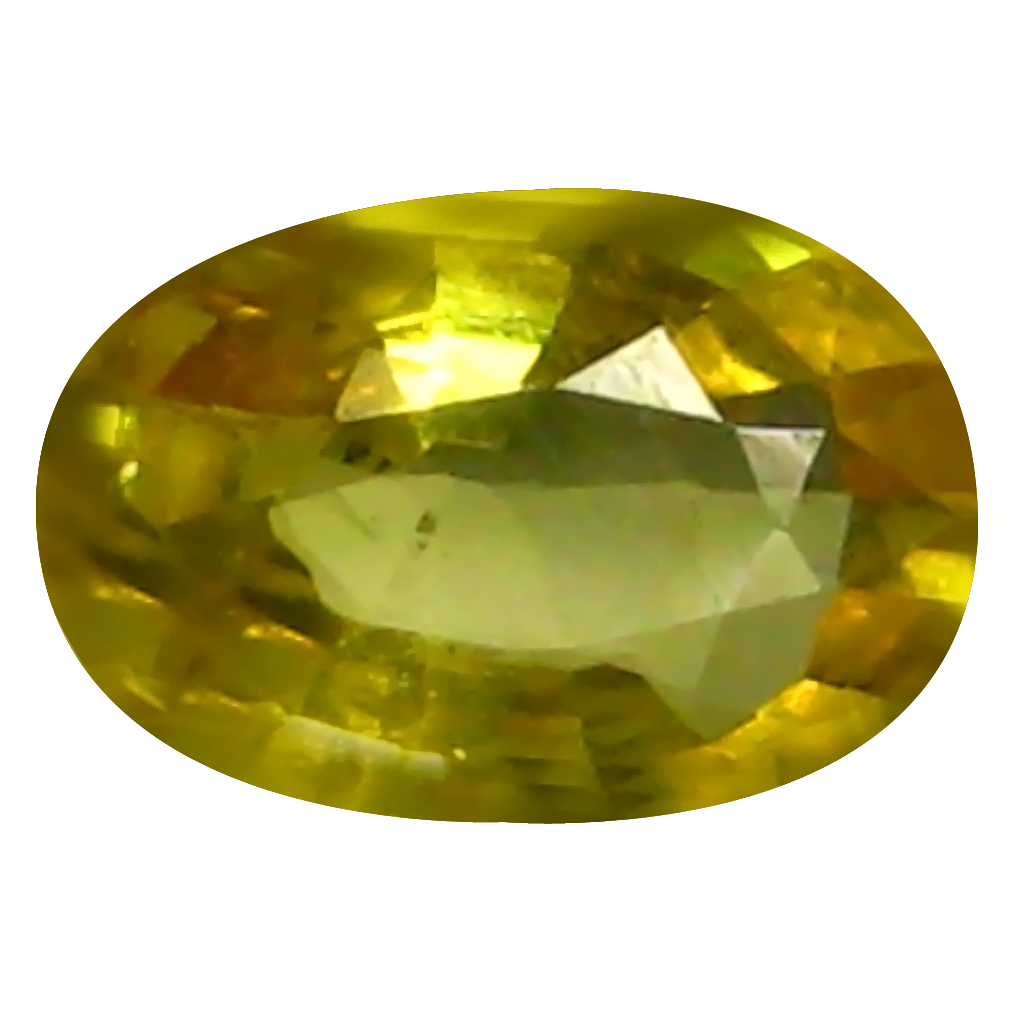 0.70 ct AAA Significant Oval Shape (7 x 5 mm) Yellow Yellow Sapphire Natural Gemstone
