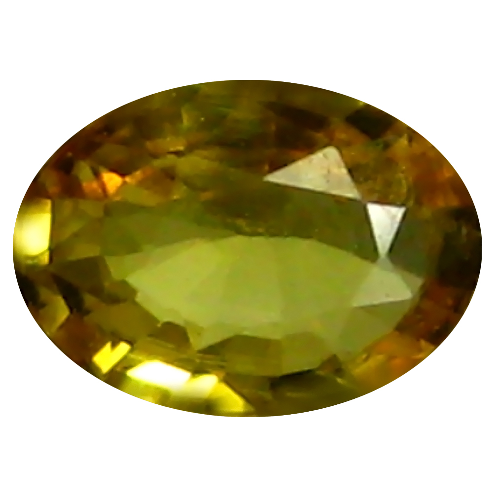 0.44 ct AAA Impressive Oval Shape (6 x 4 mm) Yellow Yellow Sapphire Natural Gemstone