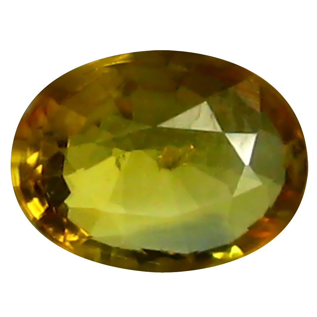 0.82 ct AAA World class Oval Shape (7 x 5 mm) Yellow Yellow Sapphire Natural Gemstone