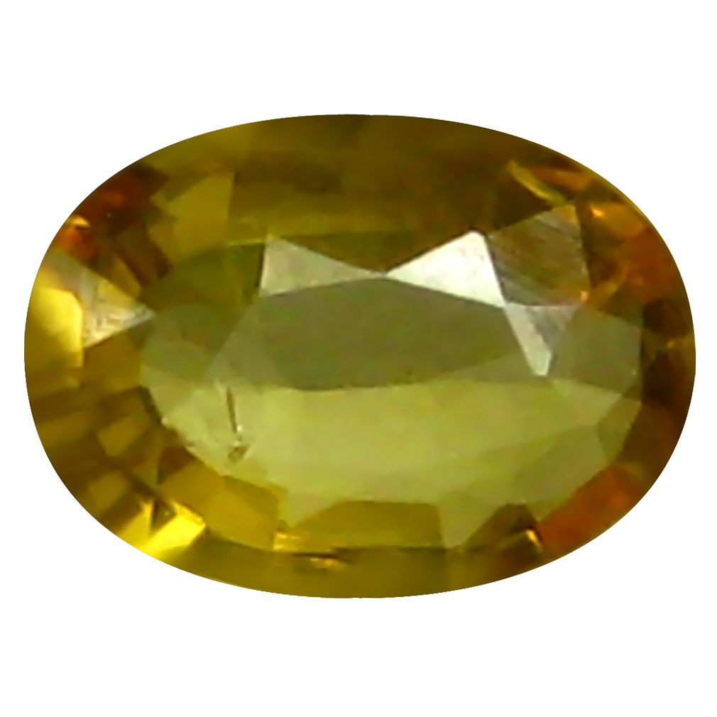 0.50 ct AAA Marvelous Oval Shape (6 x 4 mm) Yellow Yellow Sapphire Natural Gemstone
