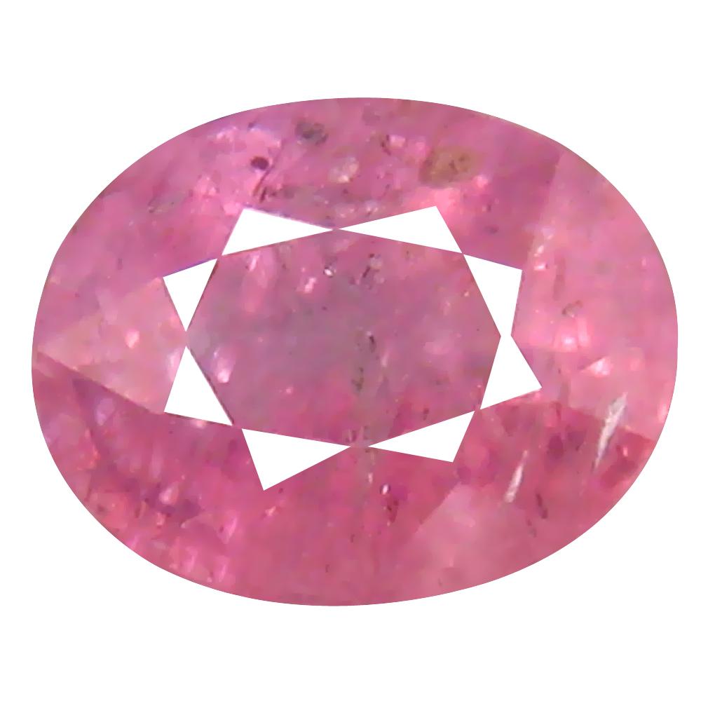 1.37 ct Fair Oval Cut (7 x 5 mm) Un-Heated Pink Sapphire Natural Gemstone