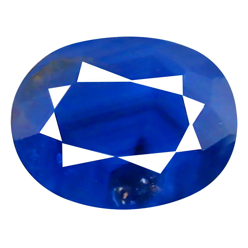 1.13 ct Super-Excellent Oval Cut (7 x 5 mm) Un-Heated Violet Sapphire Natural Gemstone