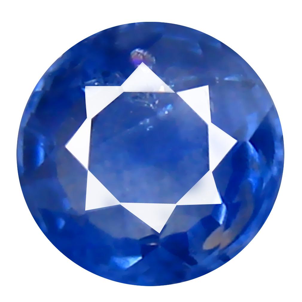 0.50 ct Sparkling Round (4 x 4 mm) Heated Ceylon - Sri Lanka Blue Sapphire Loose Gemstone