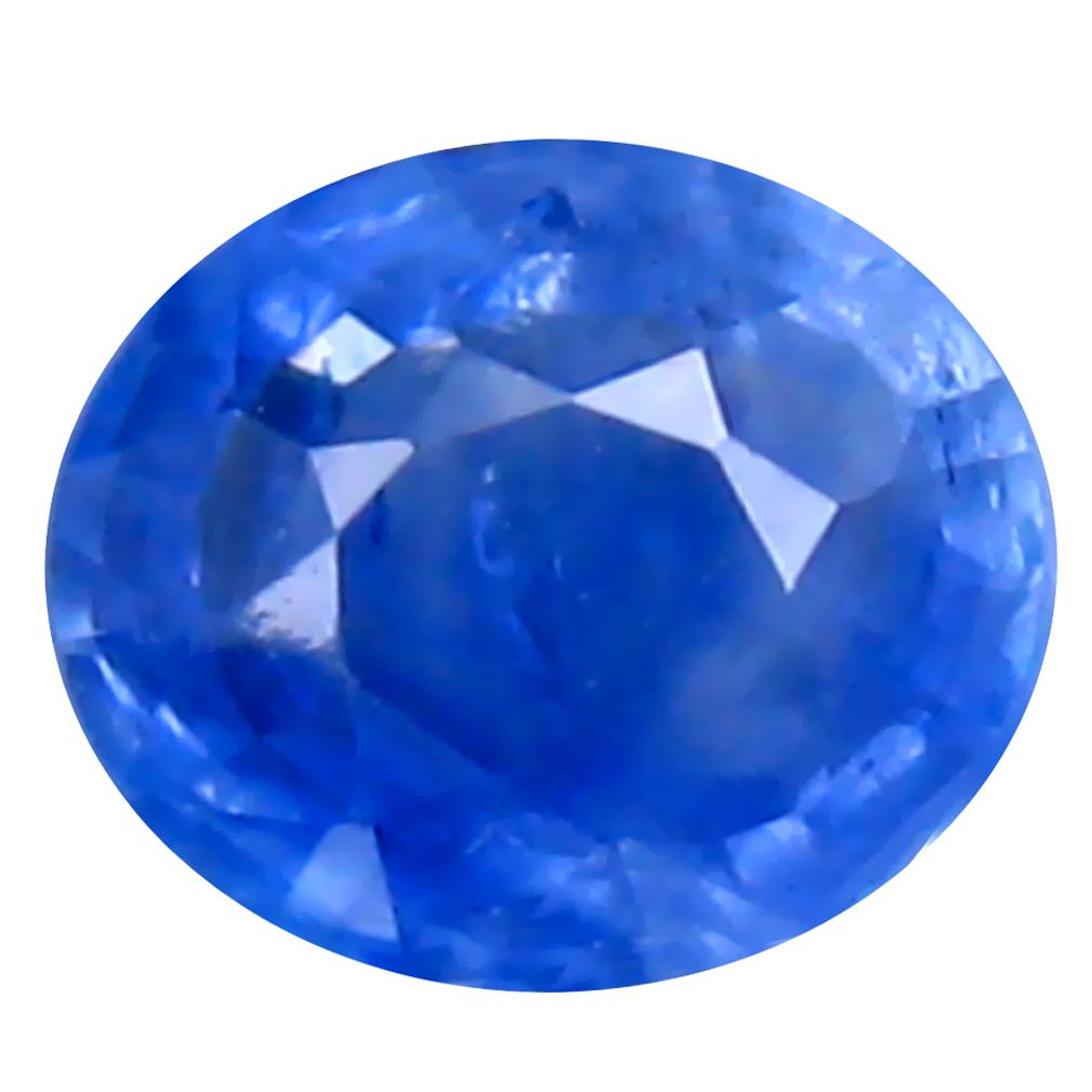 0.45 ct WONDERFUL OVAL (5 X 4 MM) HEATED CEYLON - SRI LANKA BLUE SAPPHIRE LOOSE GEMSTONE