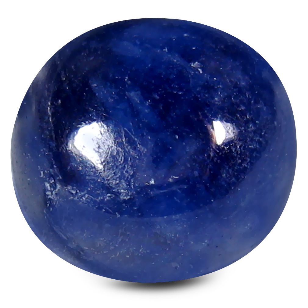 8.87 ct AAA Stunning Oval Cabochon Shape (11 x 10 mm) Blue Blue Sapphire Natural Gemstone