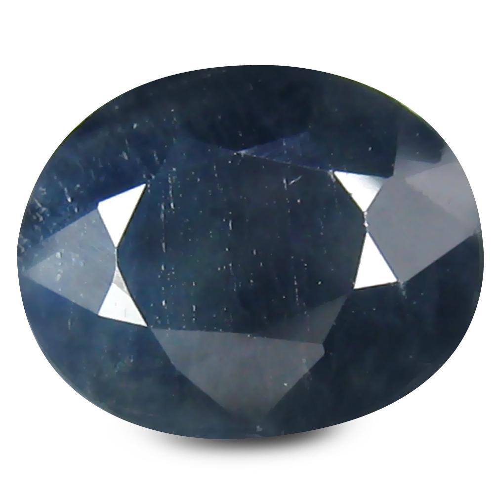 3.12 ct AA+ Fair Oval Shape (10 x 8 mm) Blue Blue Sapphire Natural Gemstone