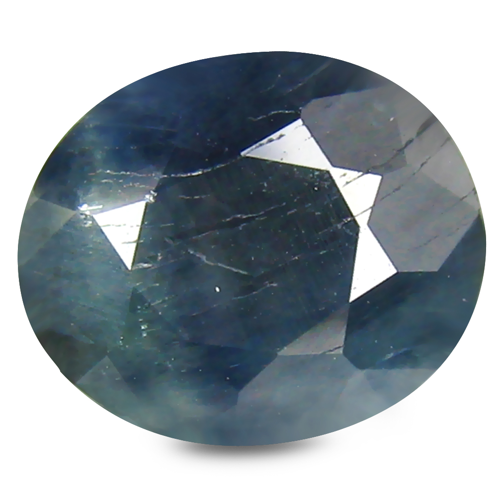 3.10 ct AA+ Eye-catching Oval Shape (9 x 8 mm) Blue Blue Sapphire Natural Gemstone