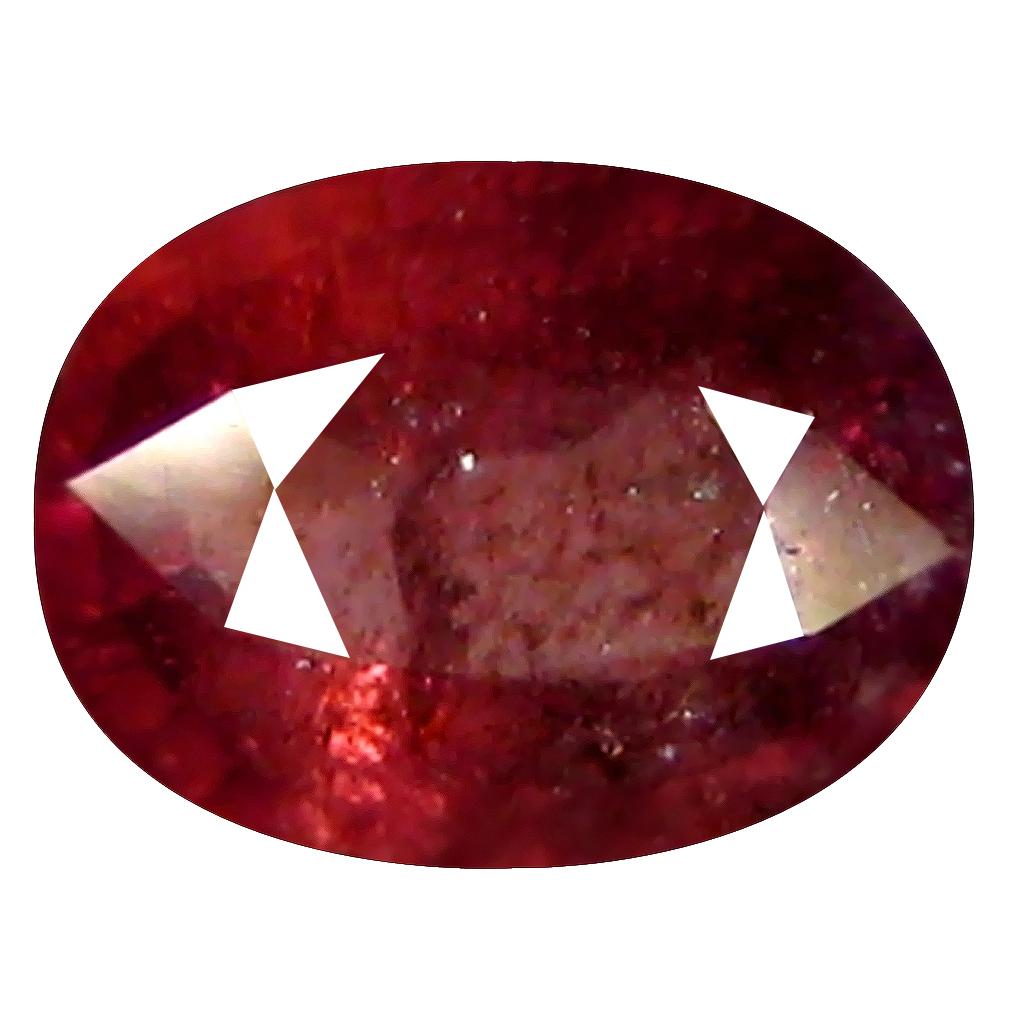 1.42 ct ASTONISHING OVAL CUT (8 X 6 MM) UN-HEATED CEYLON PINK SAPPHIRE