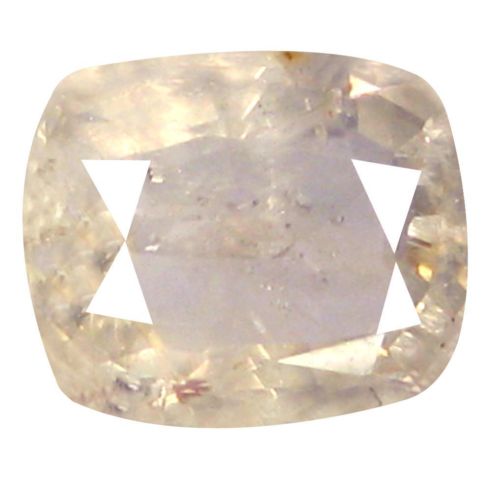 1.37 ct Elegant Cushion Cut (7 x 6 mm) Un-Heated Yellow Yellow Sapphire Natural Gemstone