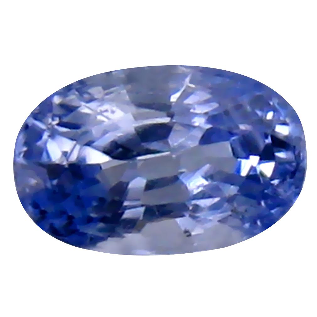 0.63 ct Exquisite Oval Cut (6 x 4 mm) Ceylon Blue Sapphire Genuine Loose Gemstone