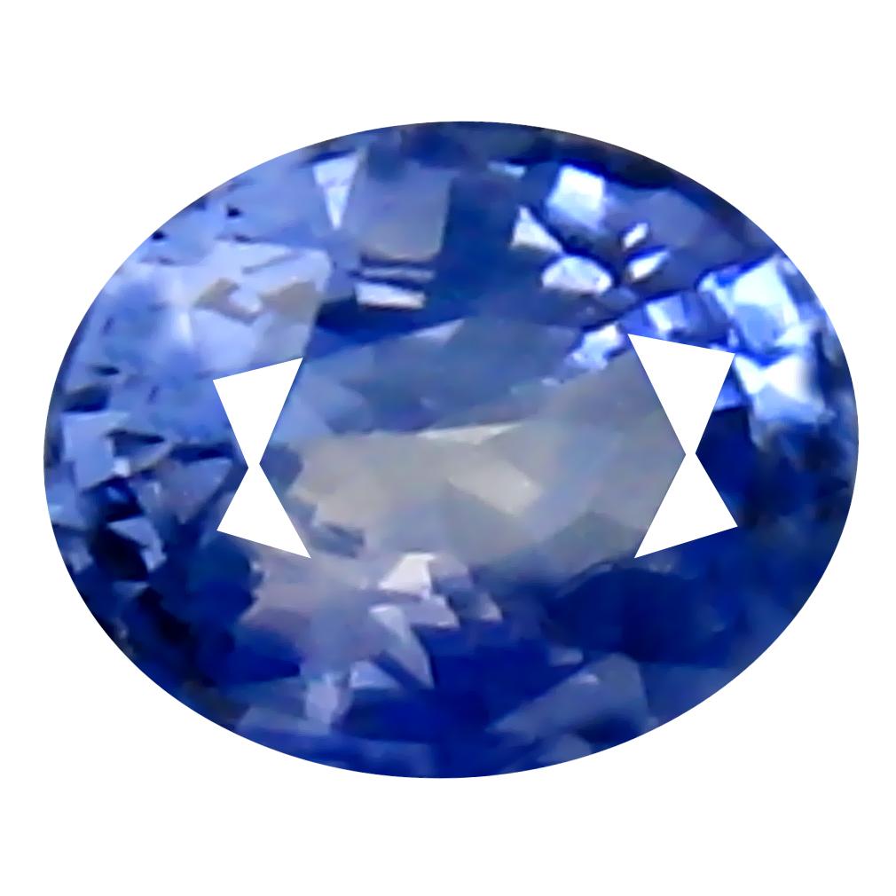 0.35 ct Superb Oval Cut (5 x 4 mm) Ceylon Blue Sapphire Genuine Loose Gemstone