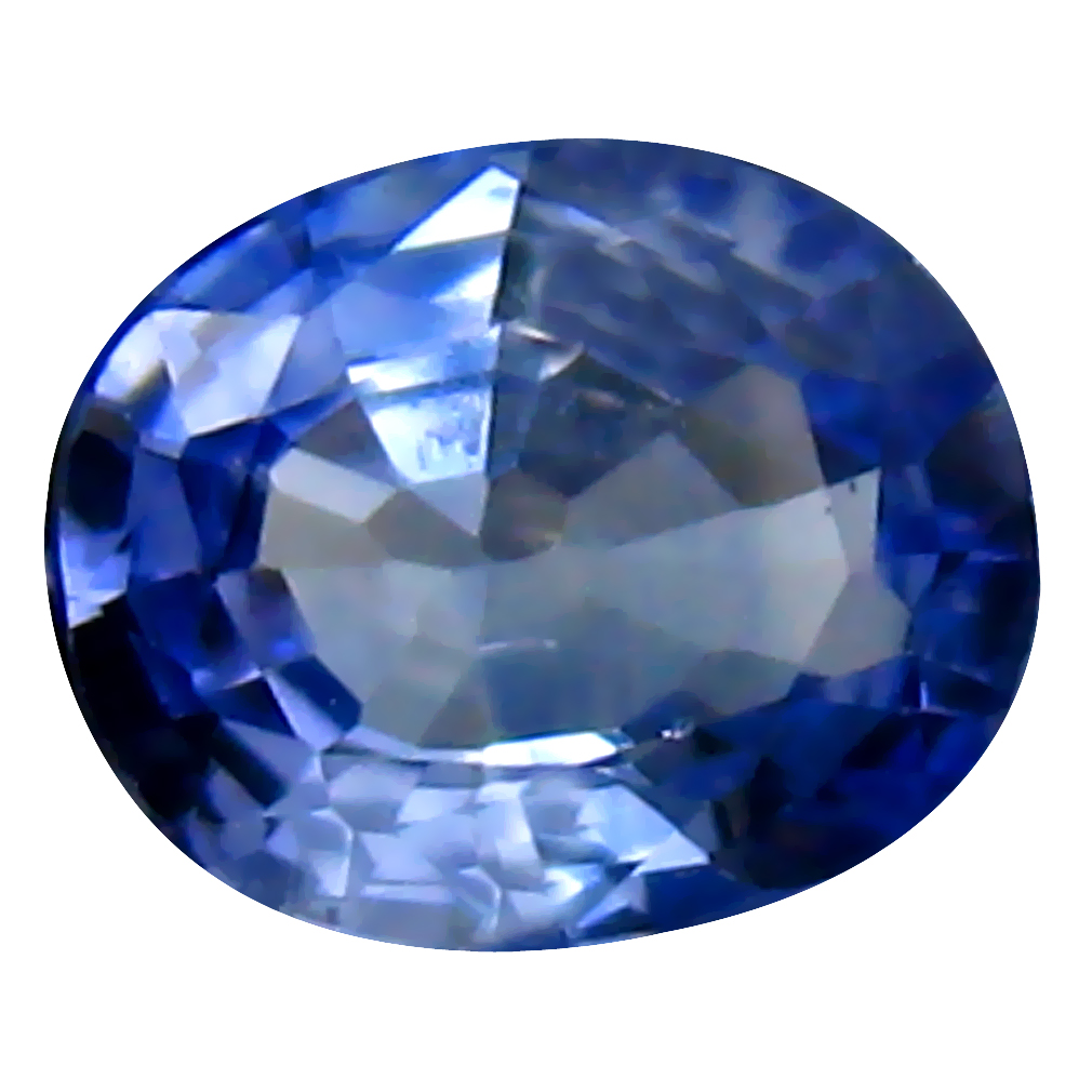 0.61 ct Incredible Oval Cut (6 x 5 mm) Ceylon Blue Sapphire Genuine Loose Gemstone