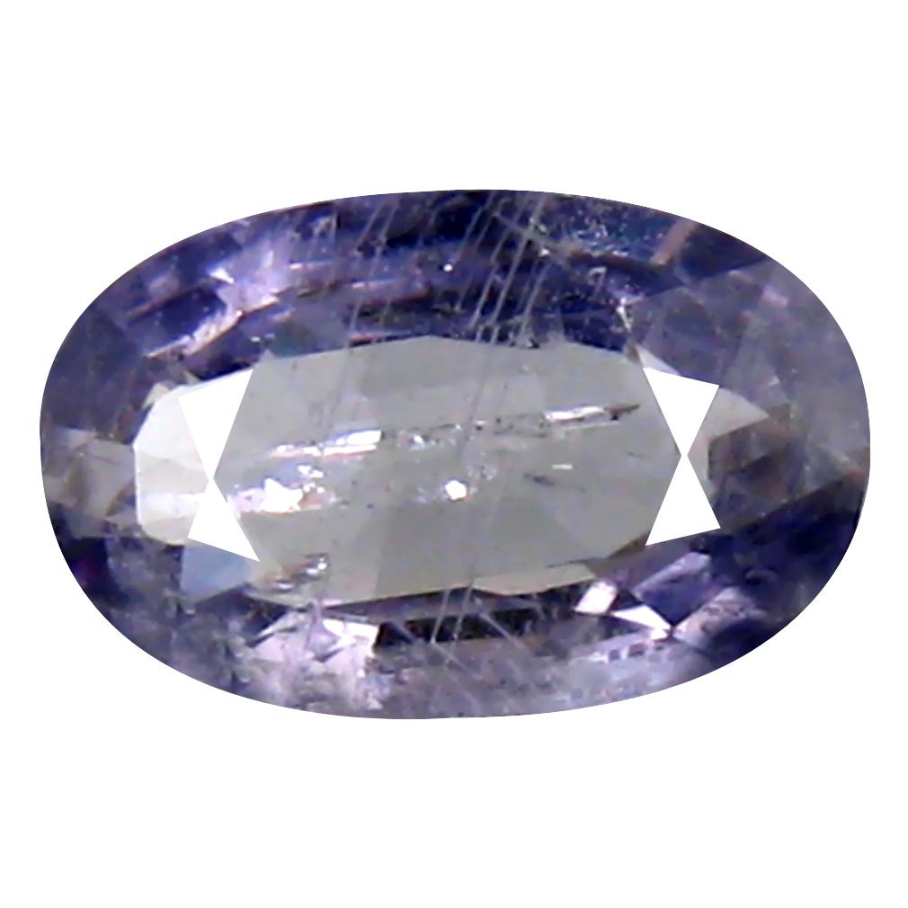 0.86 ct Romantic Oval Cut (8 x 5 mm) Un-Heated Blue Sapphire Natural Gemstone