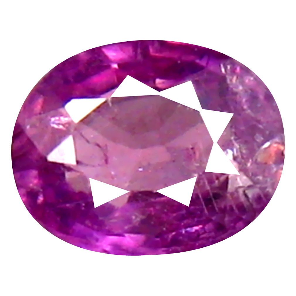 0.26 ct Good-looking Oval Cut (4 x 4 mm) Un-Heated Pink Sapphire Natural Gemstone