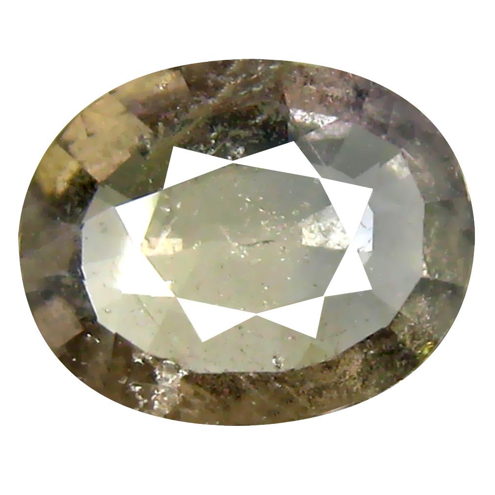 1.78 ct Stunning Oval Cut (9 x 7 mm) Un-Heated Yellow Green Sapphire Natural Gemstone