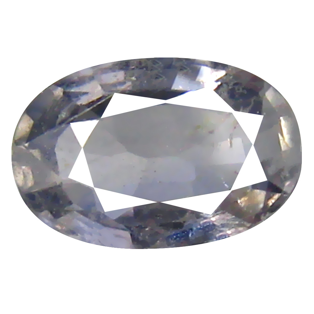 1.11 ct Eye-opening Oval Cut (8 x 5 mm) Un-Heated Purplish Green Sapphire Natural Gemstone