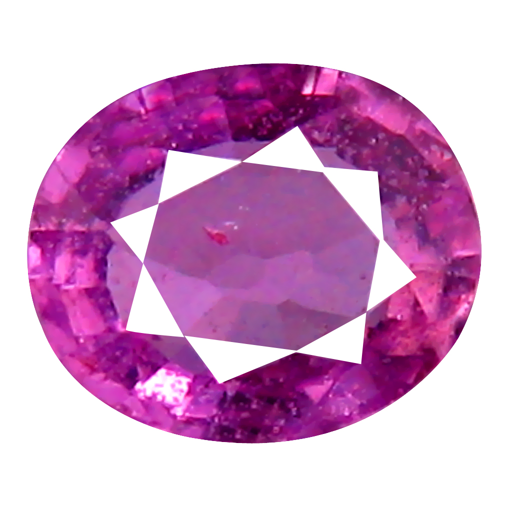 0.40 ct FIVE-STAR OVAL CUT (5 X 4 MM) UNHEATED / UNTREATED NATURAL PINK SAPPHIRE LOOSE GEMSTONE